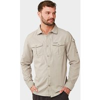 CRAGHOPPERS Men's Nosilife Adventure II Shirt, STN/STN