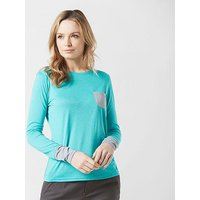 Berghaus Women's Explorer Tech Long Sleeve T-Shirt, Blue