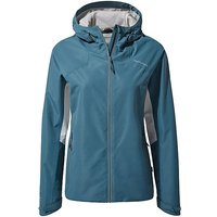 CRAGHOPPERS Womens Horizon Waterproof Jacket, TEAL/TEAL