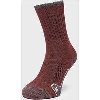BRASHER Women's Walker Socks, Red/WINE/GRY