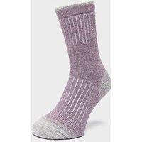 BRASHER Women's Trekker Socks, PUR/PUR