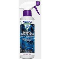 NIKWAX Fabric & Leather Proof Spray (300ml), 300ML/300ML