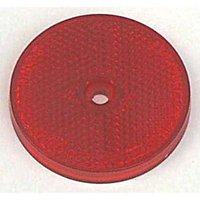 MAYPOLE Red Reflector, RED/RED
