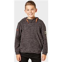 REGATTA Kid's Keyon Hooded Fleece, Grey/GRY