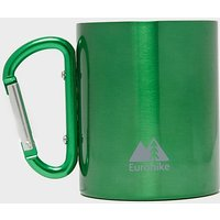 EUROHIKE Carabiner Handle Mug, Green