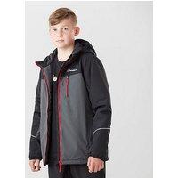 Berghaus Kids' Rannoch Insulated Waterproof Jacket, Black/Grey