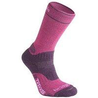 Bridgedale Woolfusion Trekker Socks, Berry