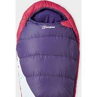 Berghaus Transition 200W Sleeping Bag, Purple/Pink