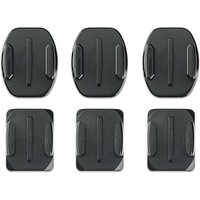 GOPRO Flat and Curved Adhesive Mounts, BLK/BLK