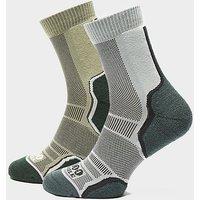 1000 Mile Women's Trek Walking Socks (2 Pack), MUL/MUL