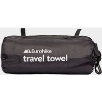 EUROHIKE Suede Travel Towel - Large, MBL/MBL