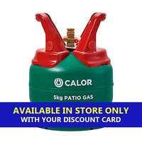 CALOR GAS Patio Gas 5kg Refill