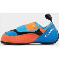 CLIMB X Kinder Kids' Climbing Shoe, ORANGE