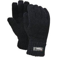 Fordville Ltd Chenille Thinsulate Gloves, Black