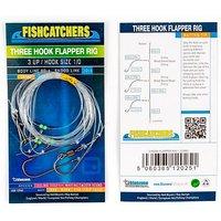 Bluezone 3 Hook Flapper Rig Size 1