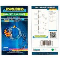 Bluezone Easy Cast Fish Finder 3 Up 3 Hook Size 4