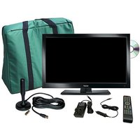 """FALCON TV Plus Pack - 19"""" LED TV, 12V & Mains with magnet"""