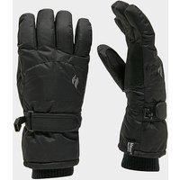 Heat Holders Ladies Ski Gloves, Black