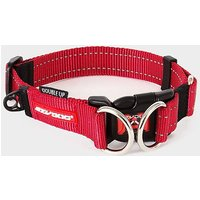 EZY-DOG Double Up Dog Collar (L), RED