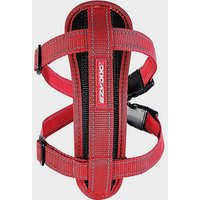 EZY-DOG Chest Plate Dog Harness (M), RED