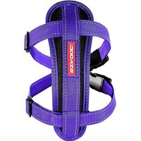 EZY-DOG Chest Plate Dog Harness (L), PURPLE