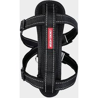 EZY-DOG Chest Plate Dog Harness (XL), BLACK/HARNES
