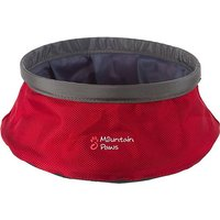 MOUNTAIN PAWS WATER BOWL, RED