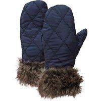 Hi-gear Fur Trim Insulated Mitts, Black Iris