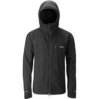 RAB Men's Vapour-rise Guide Jacket, BLACK/JKT