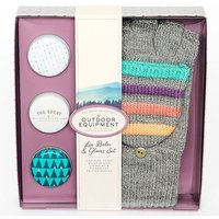 Handy Heroes Lip Balm And Gloves Set