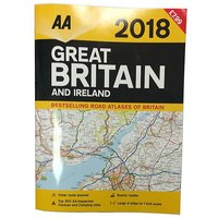 AA Great Britain and Ireland Road Atlas 2018