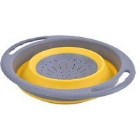 Hi-Gear Folding Colander, YELLOW/YELLOW