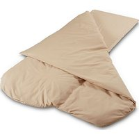 DUVALAY Compact Dual Season Sleeping Bag (Cappuccino), CAPPUCINO