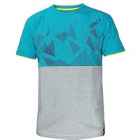 ABK Mens' Areches Crag T-Shirt, MOSAIC BLUE