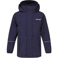 Berghaus Kids' Callander Waterproof Jacket, NAVY
