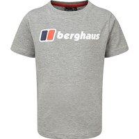 Berghaus Kids' Logo Tee, GREY