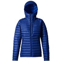 RAB Womens Microlight Alpine Long Down Jacket, BLUEPRINT/J