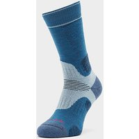 Bridgedale Hike Midweight Merino Endurance Boot Socks, Blue-sky