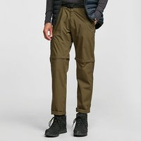 HI-GEAR Mens Nebraska II Zip-Off Walking Trousers, KHAKI/TROUS