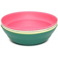 FREEDOMTRAIL 4 Plastic Picnic Bowls, ASSORTED