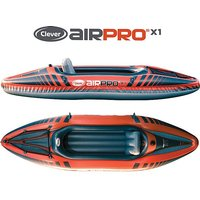 CLEVER AIPRO X1 Inflatable Kayak, BRIGHT ORANGE