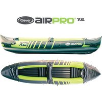 CLEVER AIPRO X2 Inflatable Kayak, BRIGHT GREEN