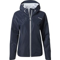 CRAGHOPPERS Women's Toscana Waterproof Jacket, NAVY/WMNS