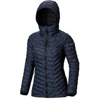 Columbia Women's Powder Pass Hooded Insulated Jacket, NAVY