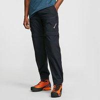 MONTANE Mens Terra Converts Walking Trousers, BLACK/CONVERTS