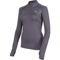 AUBRION Women's Tipton Long Sleeve Base Layer Top, MID GREY