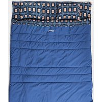 Outwell Snooze Double Sleeping Bag, Blue