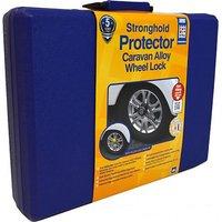 STRONGHOLD Protector Caravan Alloy Wheel Lock, NO COLOUR/YELLOW