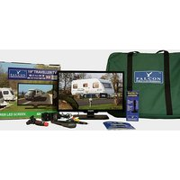 "FALCON TV Plus Pack - 19"" LED TV, 12V & Mains with magnet, NO COLOUR"