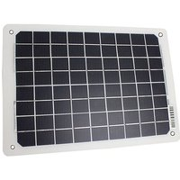 FALCON 10W Portable Solar Panel Battery Charger, NO COLOUR